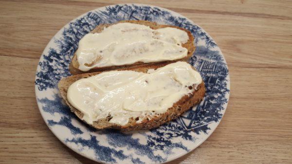 Halloumi sajtos szendvics készítése 1