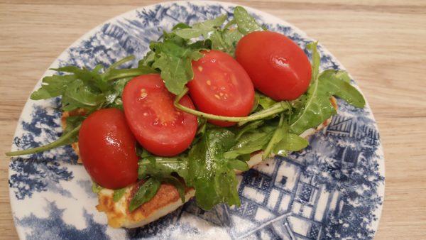 Halloumi sajtos szendvics készítése 3