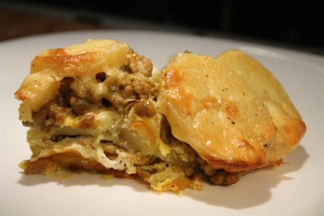 Rakott krumpli keleti fűszerekkel