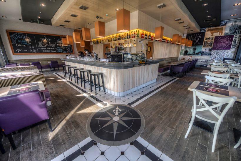 Központ Bisztró teszt: vonzó trendi étterem Újpesten