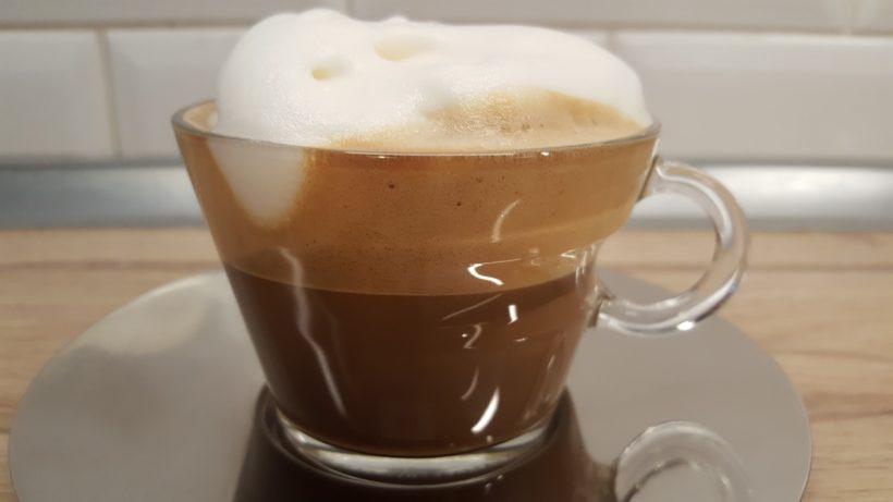 Laktózmentes cappuccino