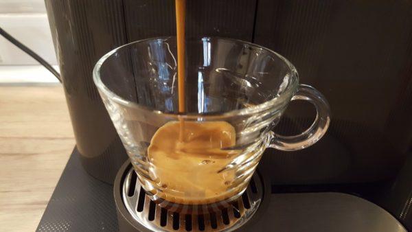 Laktózmentes cappuccino készítése 3 - presszókávé főzése