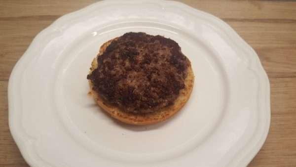 Libamájas hamburger összeállítása 1