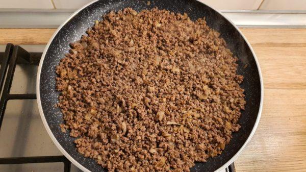 Mexikói darált húsos alap készítése 2