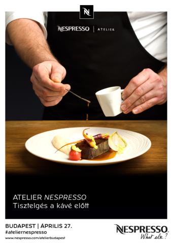 Nespresso Atelier 2016 banner
