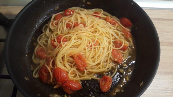 Olasz paradicsomos spagetti készítése 6