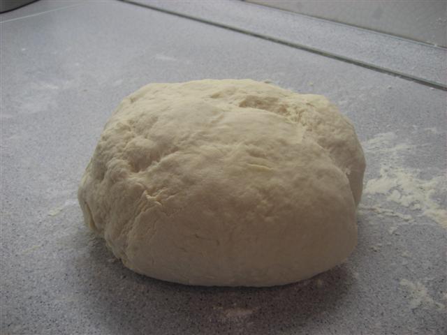Pizzatészta instant élesztővel