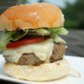 Sajtburger házi hamburger zsemlében