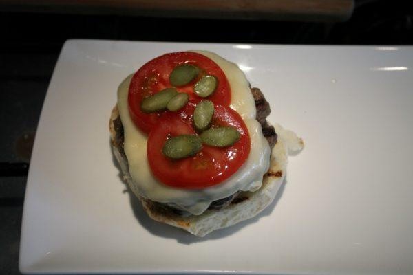Sajtburger összeállítása 3
