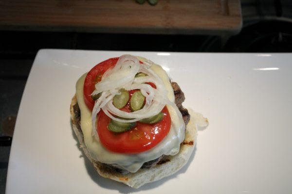 Sajtburger összeállítása 4