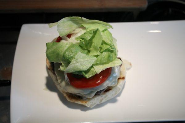 Sajtburger összeállítása 5