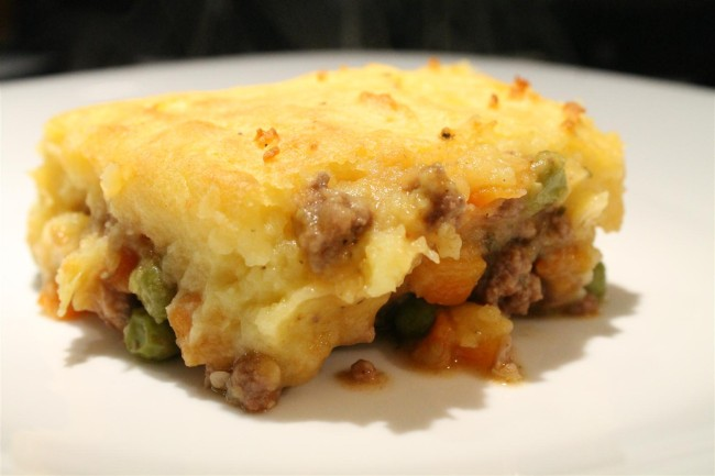 Shepherd's pie, cottage pie: pásztor pite