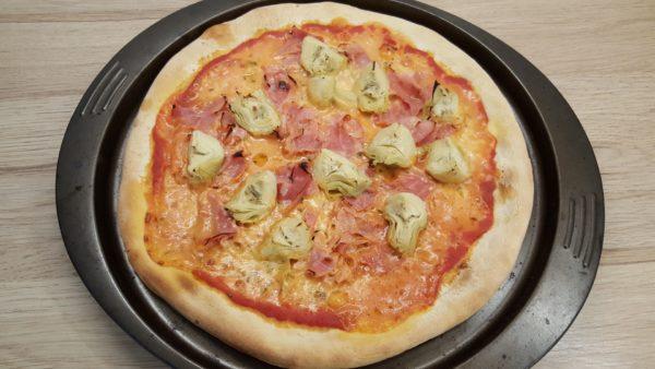 Sonkás articsókás pizza recept 7