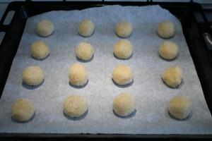 Sugar cookie sütés előtt
