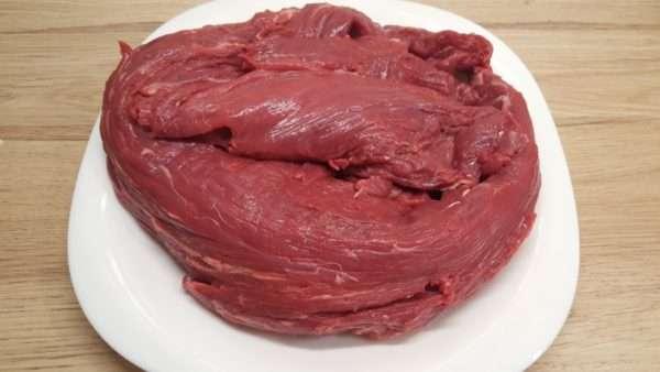 Tatárbifsztek hús (marhabélszín)