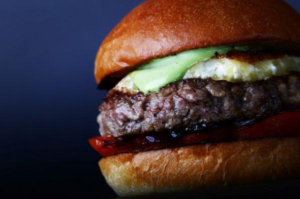 Zing wagyu burger